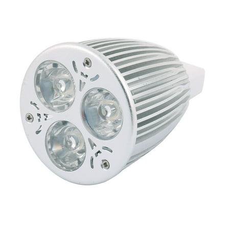 DC 12V 9W MR16 3 LEDs COB Spotlight Bulb Energy Saving Downlight Cool White