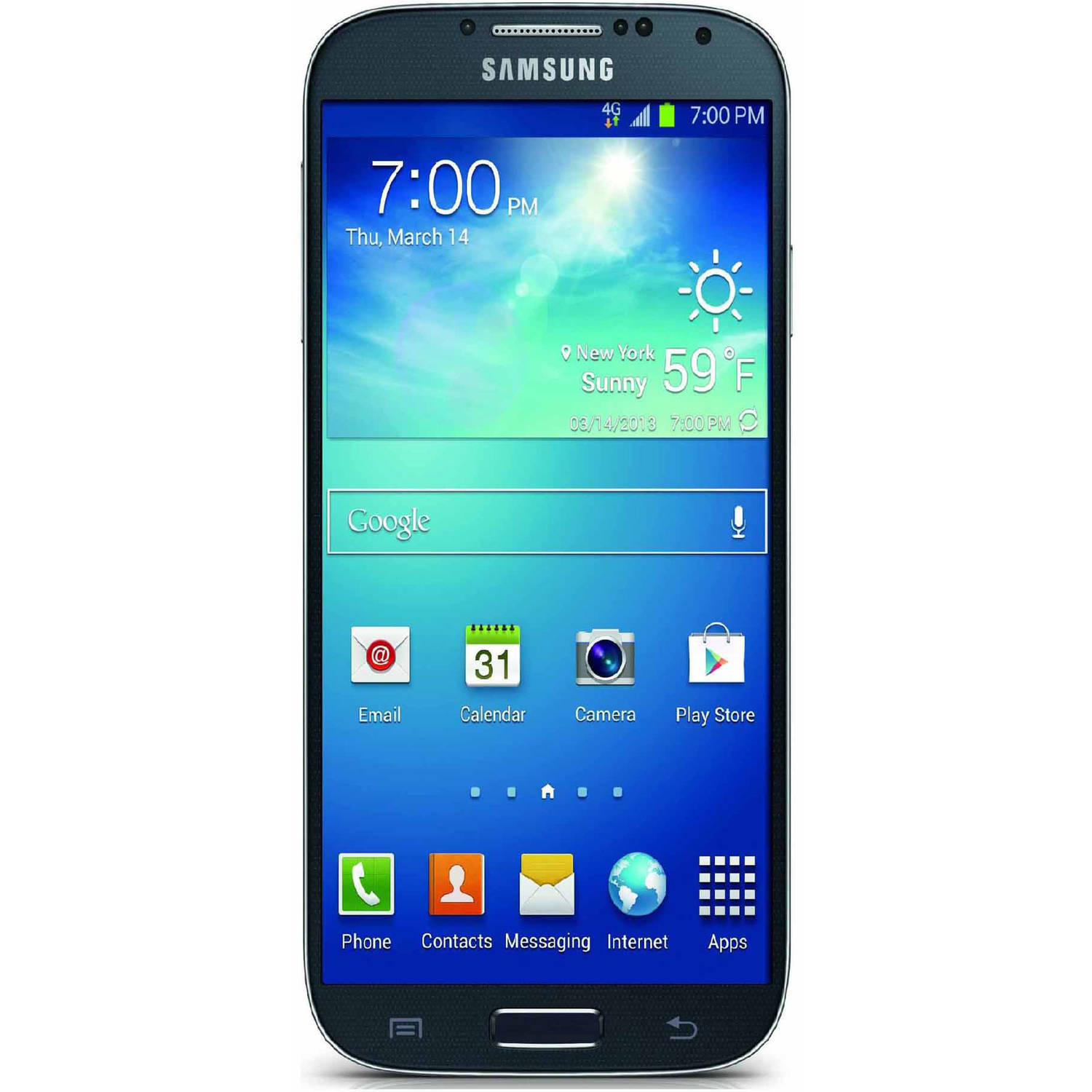 verizon samsung galaxy j1 prepaid smartphone blue. Black Bedroom Furniture Sets. Home Design Ideas