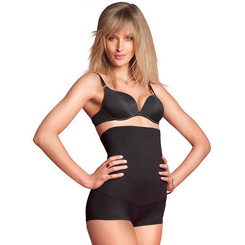 FLEXEES by Maidenform Shaping Hi-Waist Boyshort, Style 82107, Firm Control Shapewear