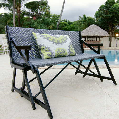 Matrix Vero Gray Outdoor Convertible Picnic Bench