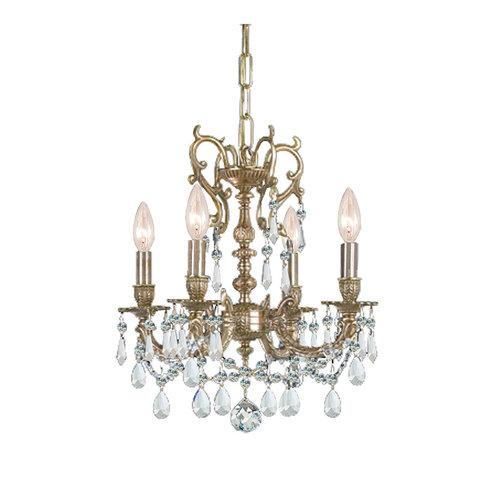 Crystorama 1135-CH-CL-SAQ Six Light Chandeliers by Crystorama
