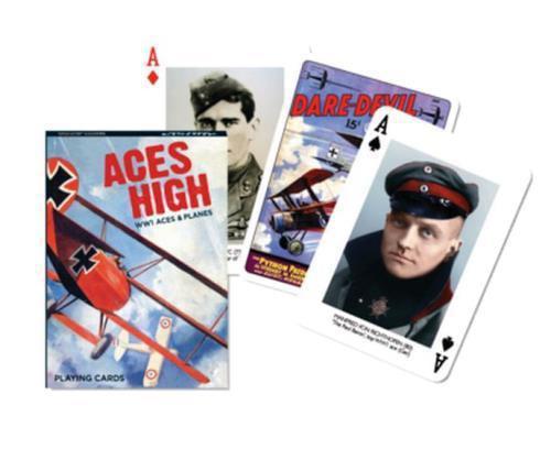 Piatnik Aces High World War 1 Aces and Planes Single Deck...