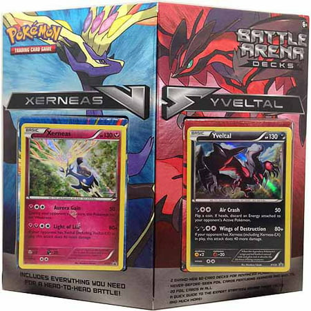 Pokemon Battle Arena X & Y Deck (Keldeo Vs Rayquaza Battle Arena Deck List)
