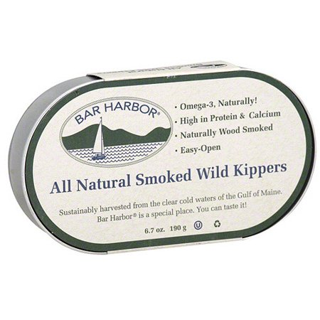 - Bar Harbor Smoked Kippers, 6.7 oz (Pack of 12)