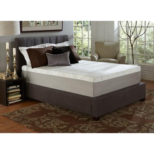 Slumber Solutions Choose Your Comfort 14-inch King-size Memory Foam Mattress Firm