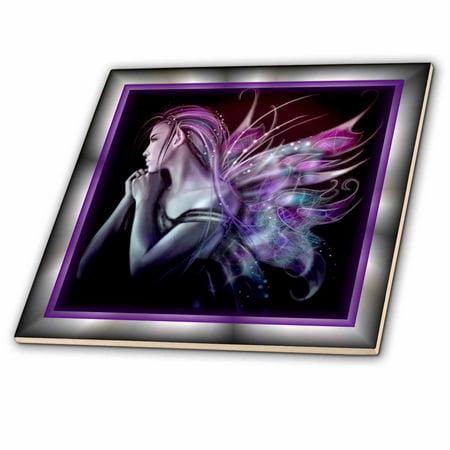Faith Tile (3dRose Mystical Fairy - Ceramic Tile, 12-inch)