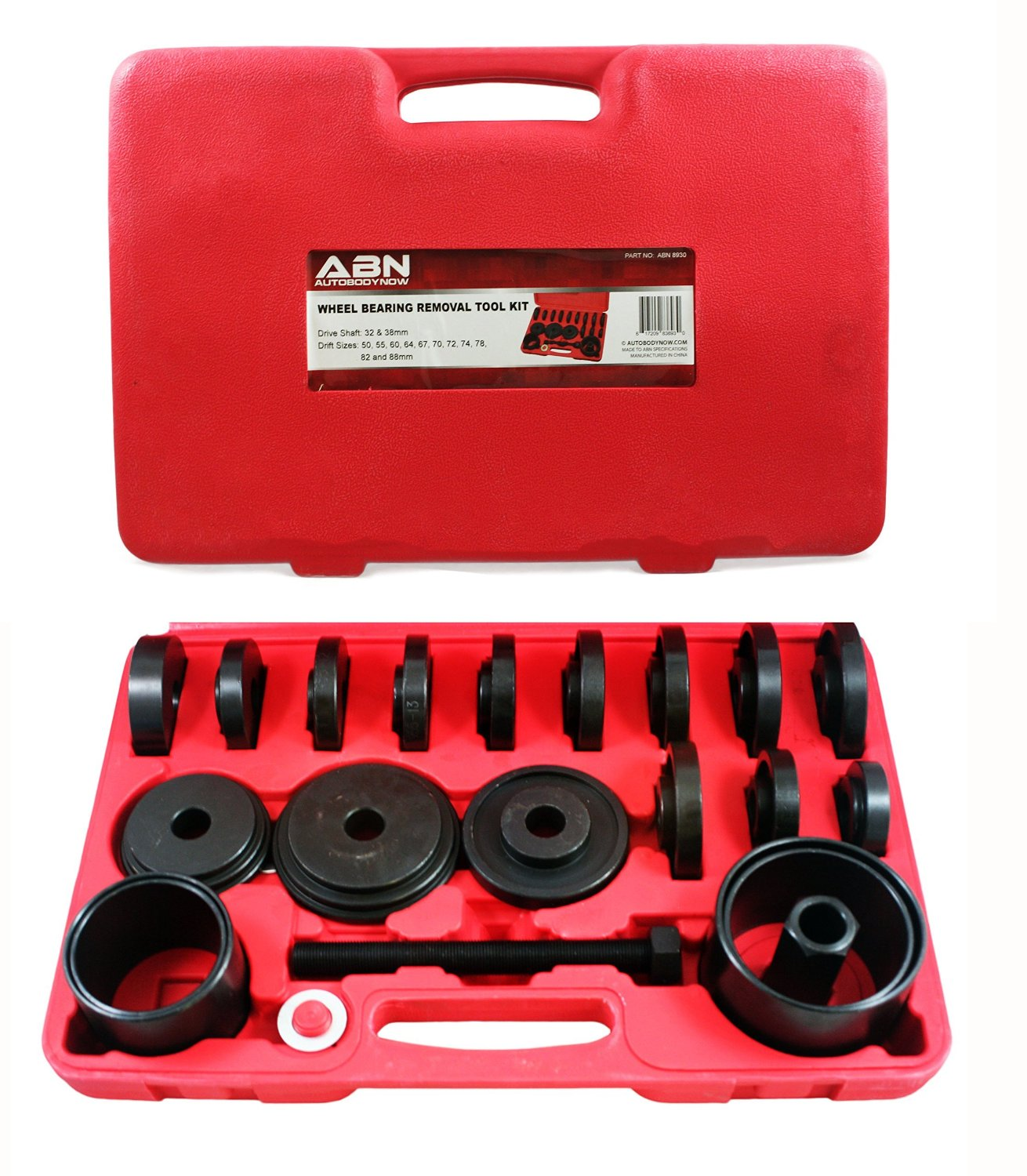 ABN 23 Piece Front Wheel Drive Wheel Bearing Removal and Installation Tool Set by ABN