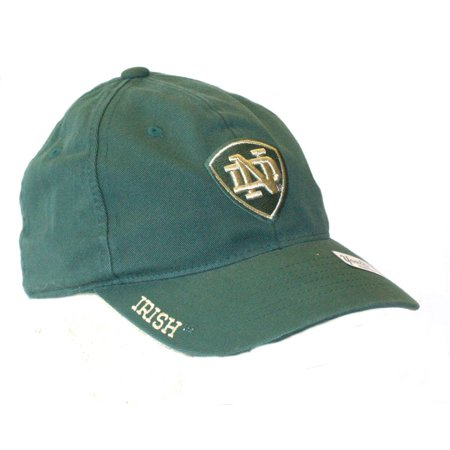 Notre Dame YOUTH Green Stretch Fit Hat Cap - Stretch Fit Youth Cap