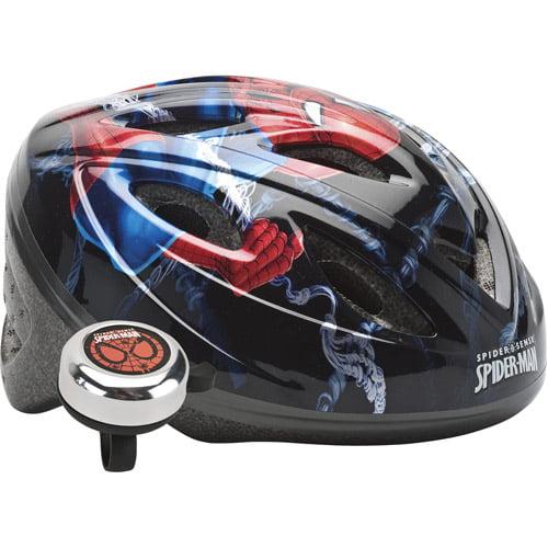 Spider-Man Web Shooter Child's Bike Helmet and Bell