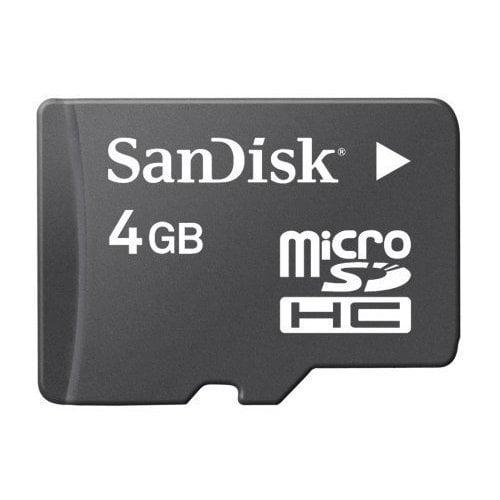 Top Brand 4 GB MicroSD HC Memory Card