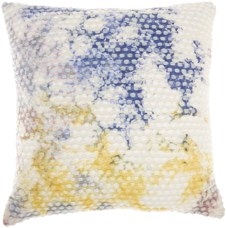 Nourison Life Styles Hand Stitched Tiedye Multicolor Decorative Throw Pillow 22 X22 Walmart Com Walmart Com