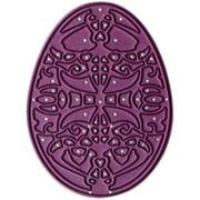 Cheery Lynn Designs Doily Die-Lace Egg 2, 2.5 Inch X 1.875 Inch