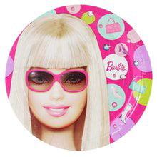 Barbie All Doll'd Up Dessert Plates 8 ct