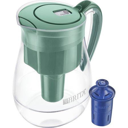 brita monterey water pitcher with 1 longlast filter - bpa free ...