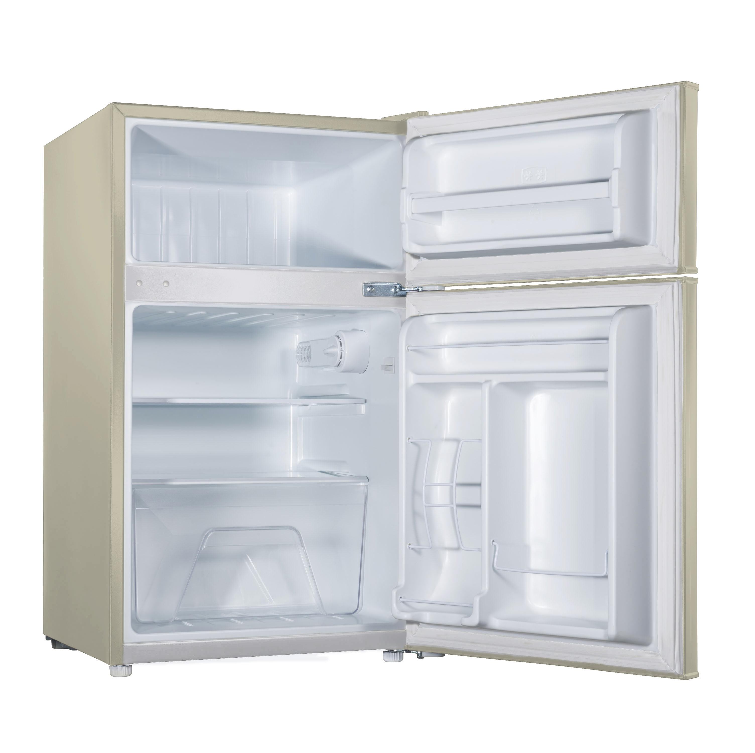 Galanz 3.1 cu ft Double Door Cream Cabinet and Door with Retro Door ...