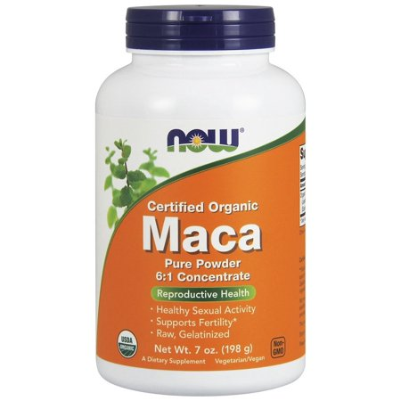 7 Ounce Liver - NOW Foods - Maca Pure Powder 100% Certified Organic - 7 oz.
