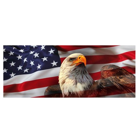 AMERICAN EAGLE Flag stars Rear Window Graphic Decal Sticker Truck SUV PICK-UP TRUCK