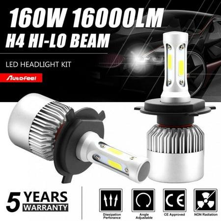 Car LED H4 9003 HB2 Hi/Lo Dual Bulb Fog Driving Headlight Kit 160W 16000LM White - image 5 of 5
