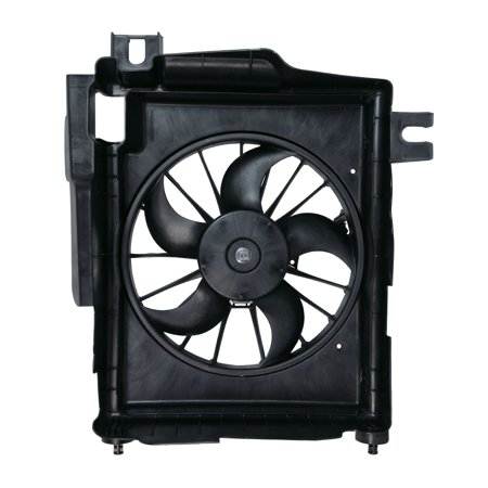 TYC 610730 Dodge Ram Pickup Replacement Condenser Cooling Fan Assembly 01 Dodge Ram Pickup