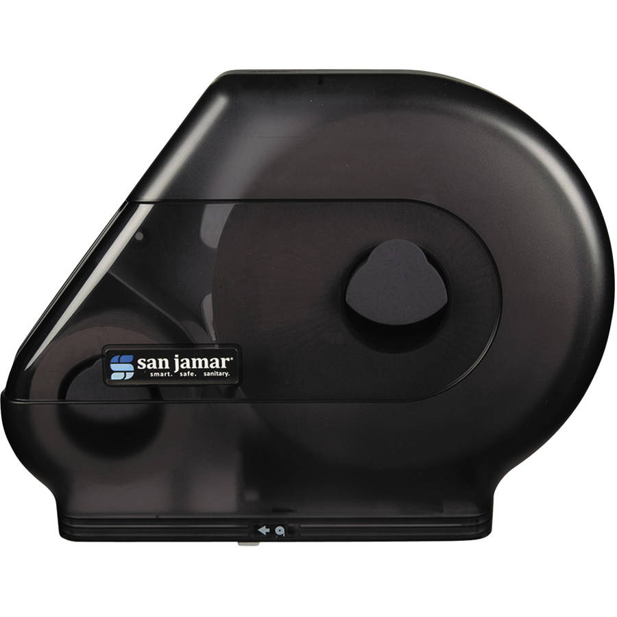 "San Jamar Quantum Classic 12""-13"" Bathroom Tissue Dispenser, Black Pearl"