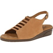 Walking Cradles Women's Vex Camel Nubuck Sandal 10 W (D)