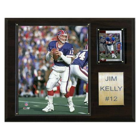 C&I Collectables NFL 12x15 Jim Kelly Buffalo Bills Player - Bills Nfl