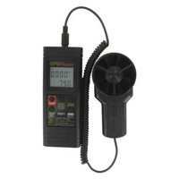 DWYER INSTRUMENTS 8901 Anemometer,Rotating Vane,Black