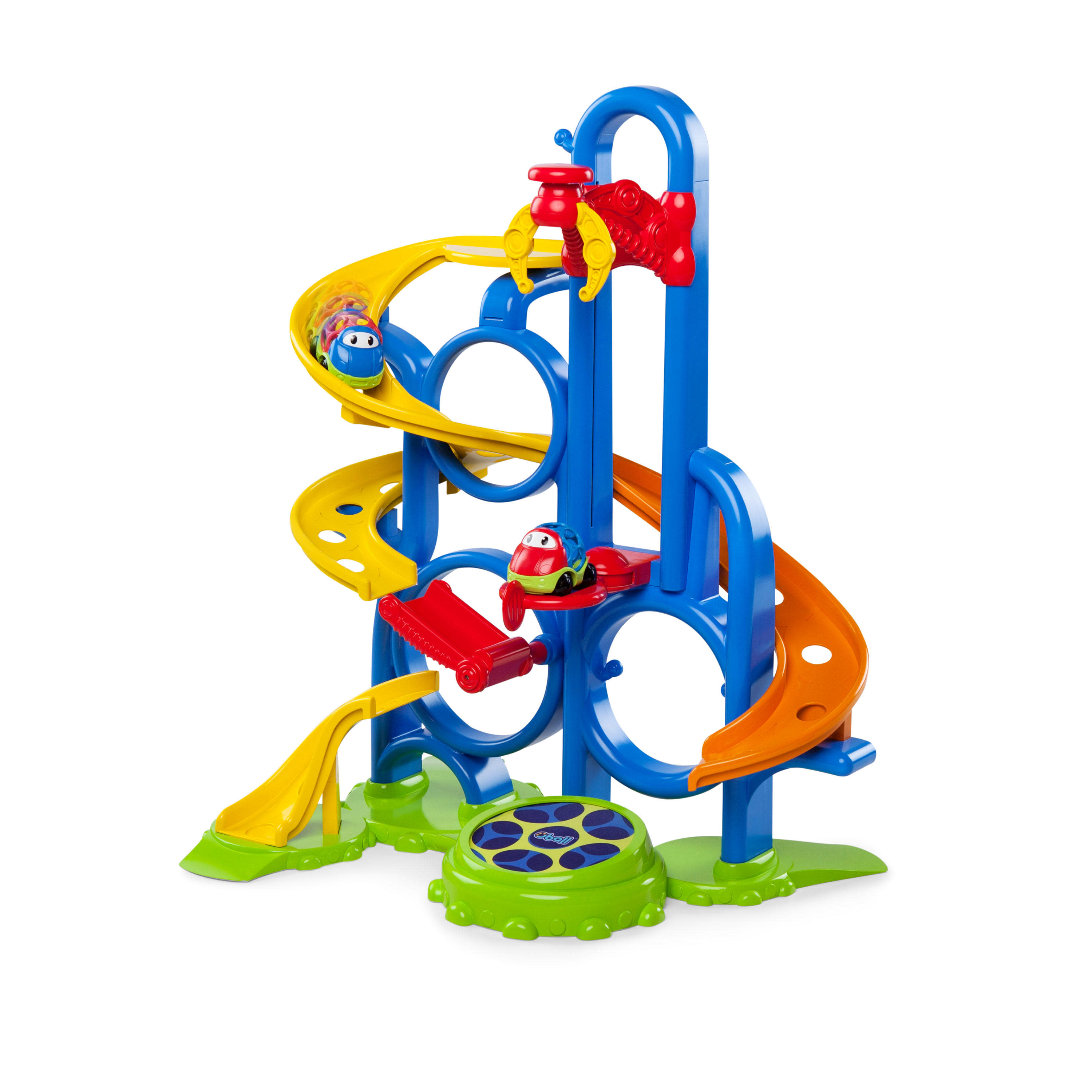 Oball Go Grippers Bounce 'N Zoom Speedway Track Play Set