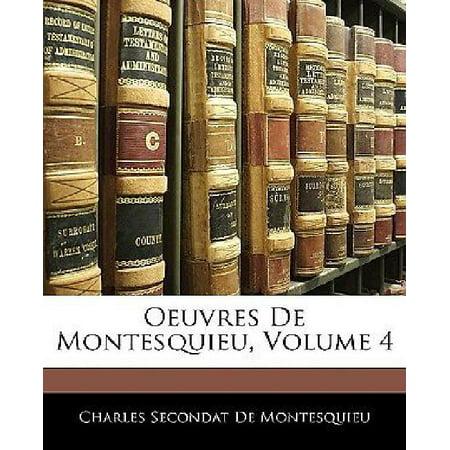 Oeuvres de Montesquieu, Volume 4 - image 1 de 1