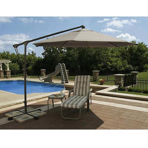 Swim Time Caspian 8' x 10' Rectangular Market Umbrella