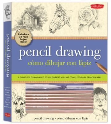 Pencil Drawing / como dibujar con lapiz: A Complete Drawing Kit for Beginners / Un kit completo para princpiantes