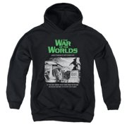 The War Of The Worlds Attack People Poster Big Boys Pullover Hoodie