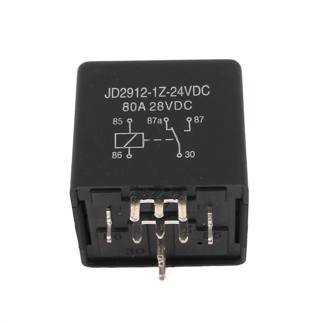 DC 24V Coil 80A 5 Pins SPDT Vehicle Car Security Power Relay 10pcs