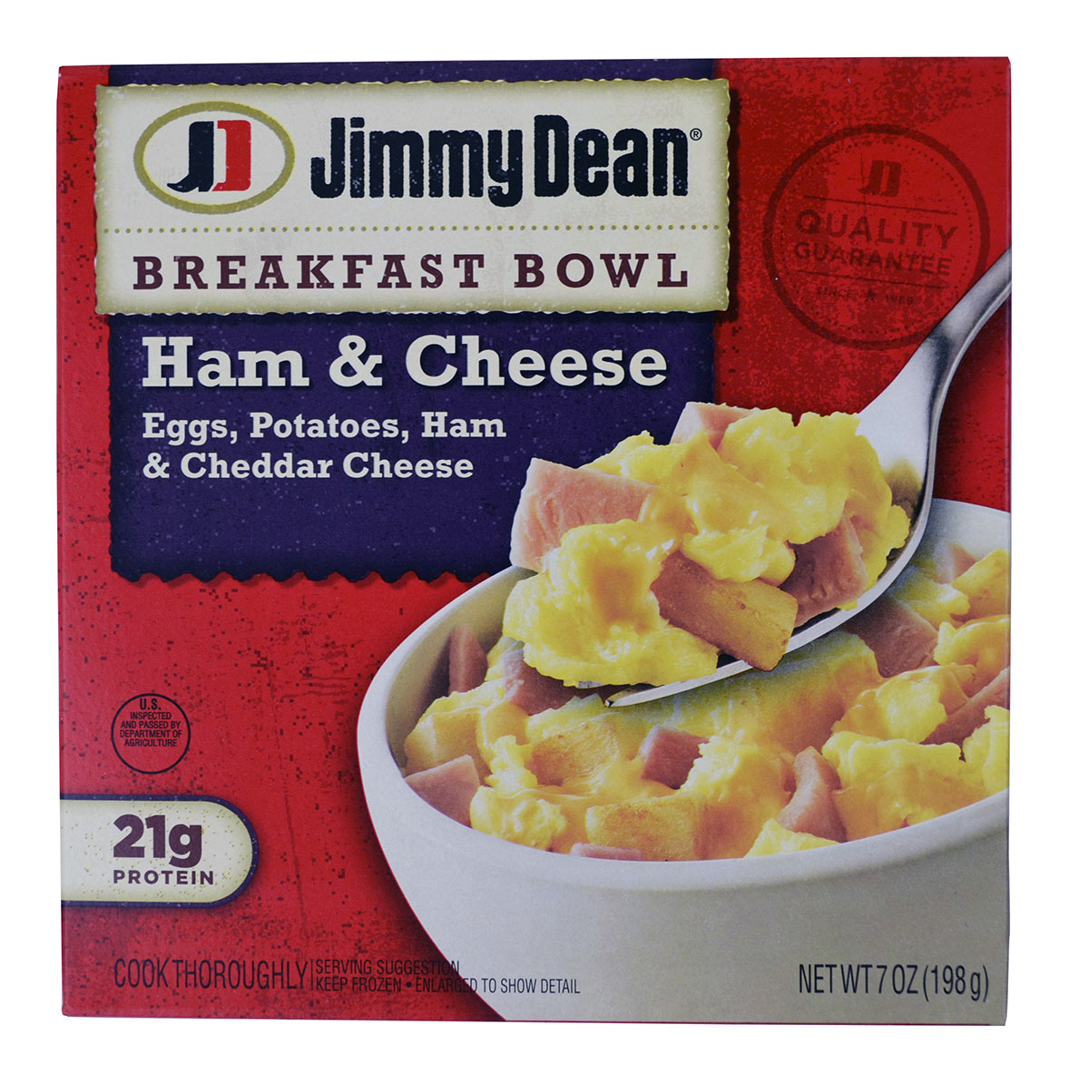 Jimmy Dean Ham Breakfast Bowl, 7 oz