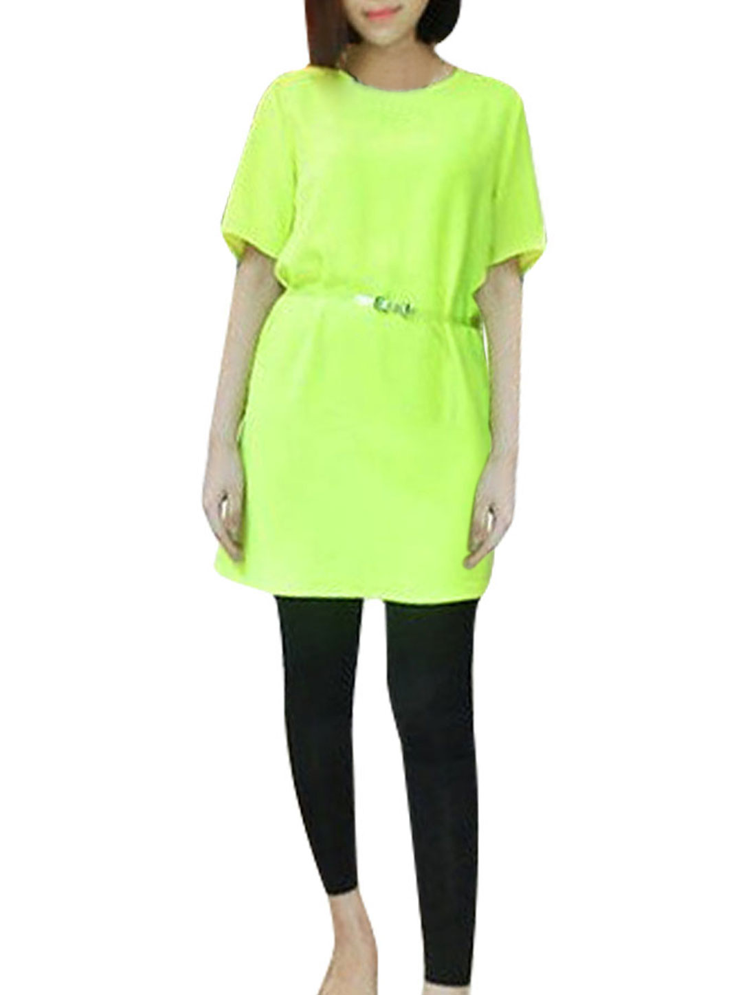 yellow dress almart straight