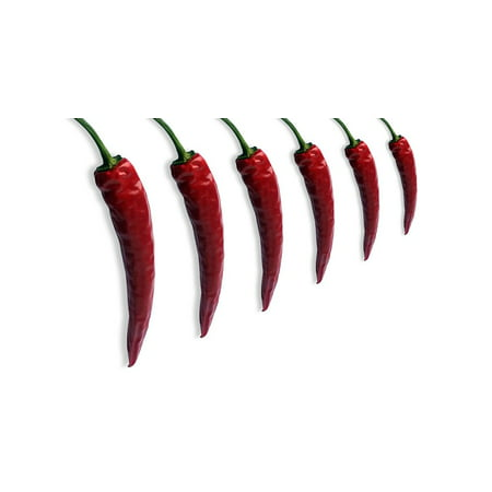 LAMINATED POSTER Pepper Asia Red Sharp Pods Chili Chilli Pepper Poster Print 24 x 36