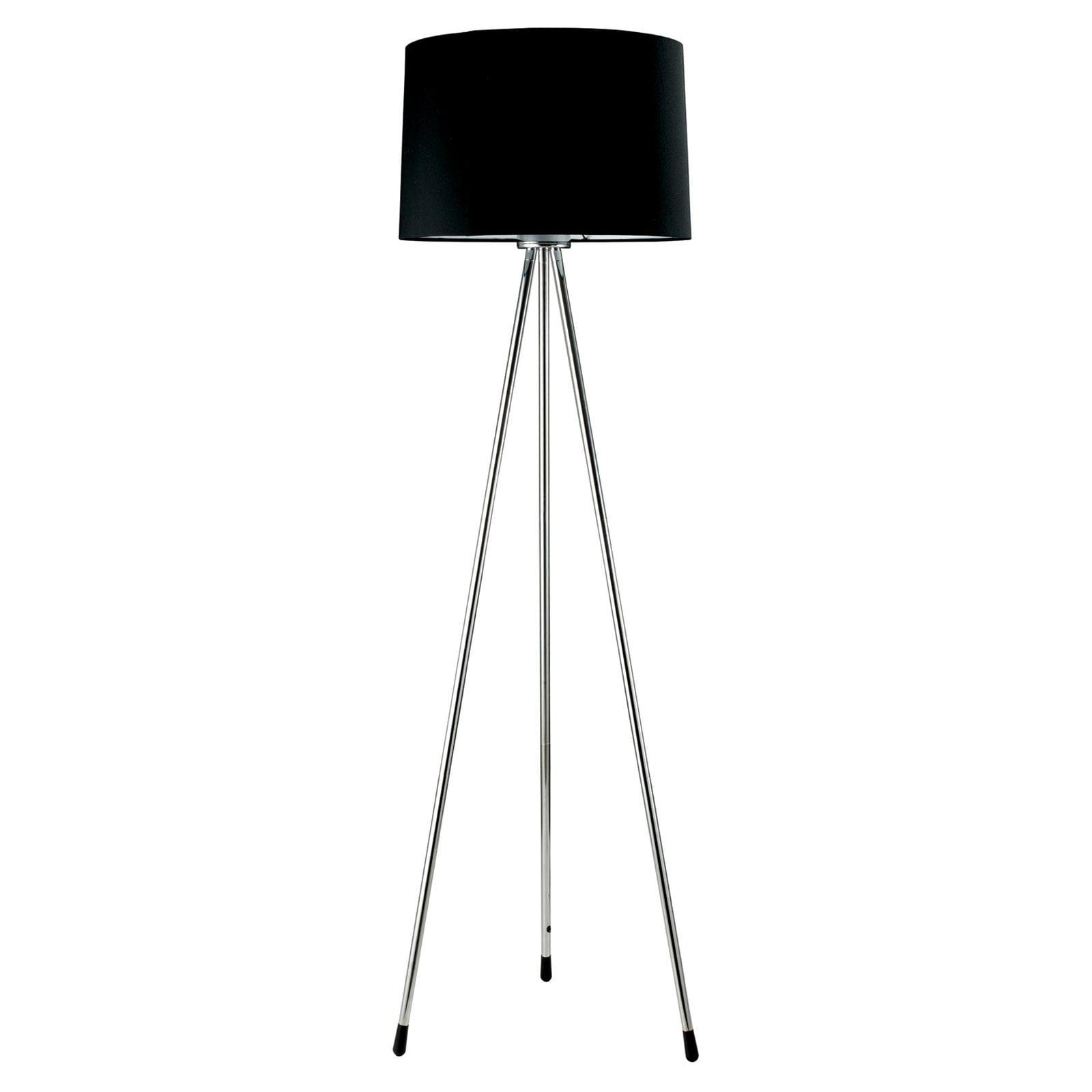 Ore International 3-Leg Floor Lamp, Black - Walmart.com