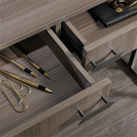 Sauder International Lux Writing Desk in Diamond Ash - image 6 de 8