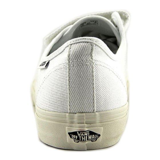 3f6cd30d617147 Vans - Vans Men s Prison Issue Twill True White   Blanc De Ankle ...
