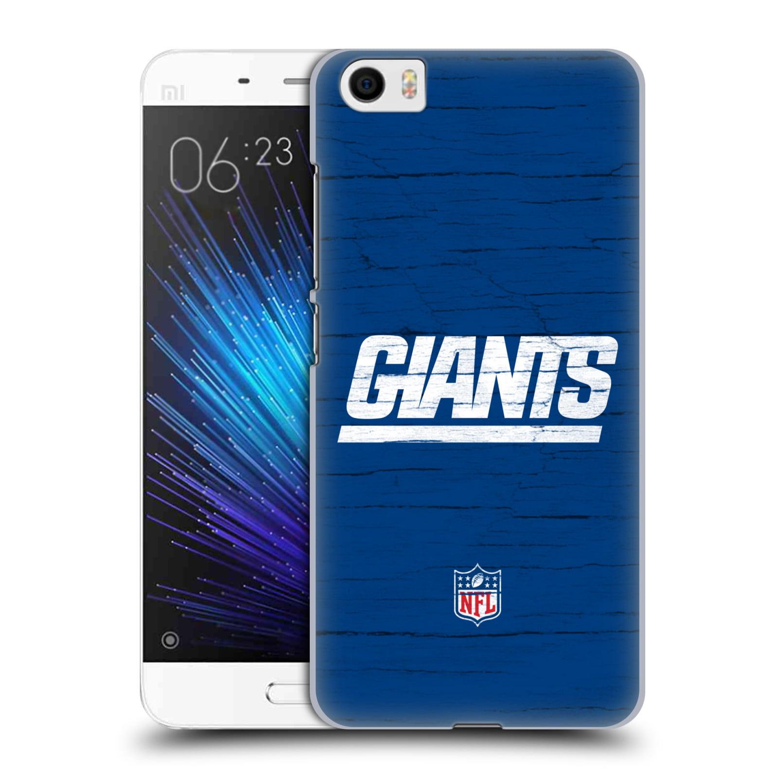 OFFICIAL NFL NEW YORK GIANTS LOGO HARD BACK CASE FOR XIAOMI PHONES