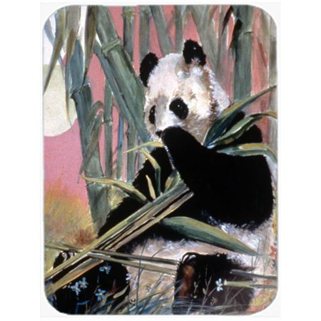 Giant Panda Glass Cutting Board, Large