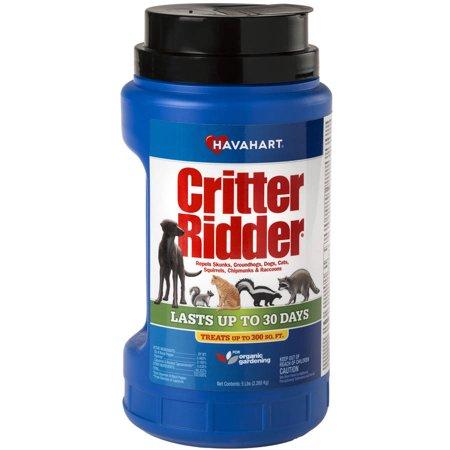 Havahart Critter Ridder Animal Repellent Granular Shaker, 5 lbs