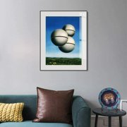 Framed Canvas Giclee Print Art Voice of Space by Rene Magritte Abstract Wall Art