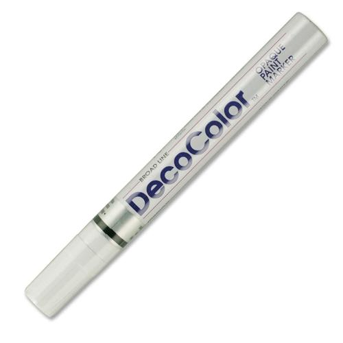 Silver Uchida 200-C-SLV Marvy Deco Color Fine Point Paint Marker
