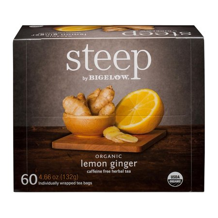 steep by Bigelow Lemon Ginger Herbal Tea ( 60 ct.) ()