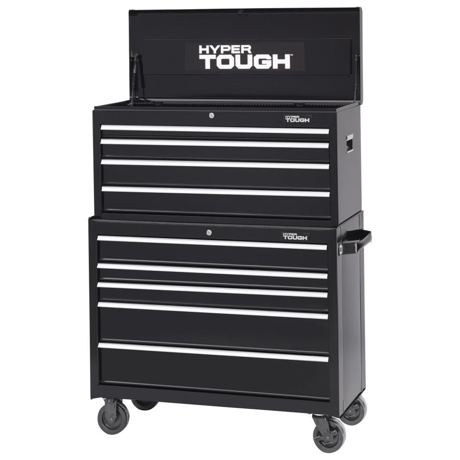 "Hyper Tough 41"" Wide 5-Drawer Tool Cabinet, Black"