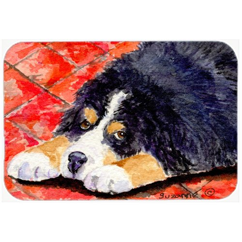 Carolines Treasures SS8842JCMTBernese Mountain Dog Kitchen or Bath Mat Multicolor 24 by 36