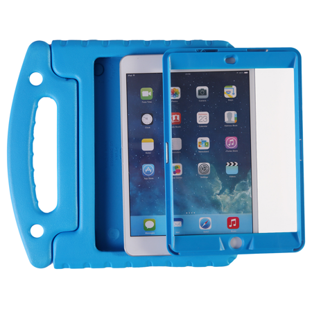outlet store 49e84 48882 HDE iPad Mini 1 2 3 Bumper Case for Kids Shockproof Hard Cover Handle Stand  with Built in Screen Protector for Apple iPad Mini 1st 2nd 3rd Generation  ...