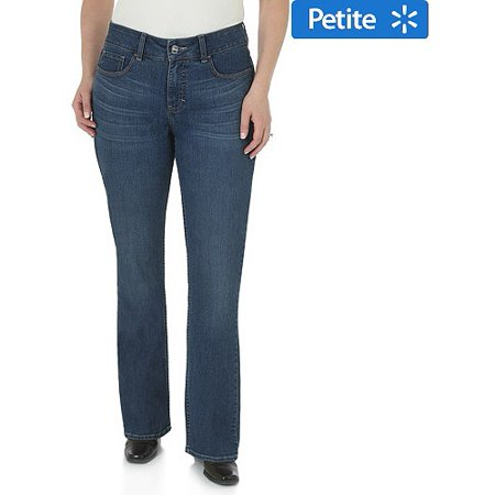 44f31bc8649 Lee Riders - Women s Petite Slender Stretch Slimming Bootcut Jeans With  Glitz Back Pocket - Walmart.com