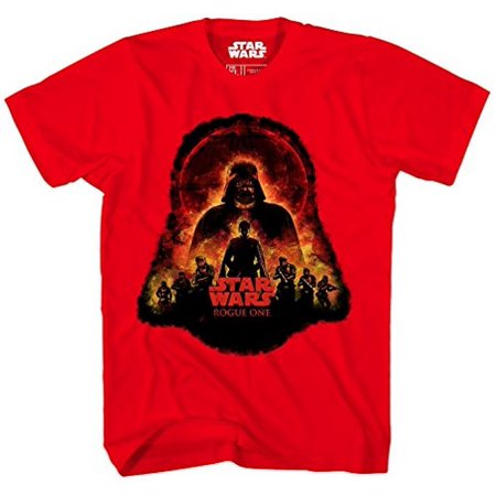 ce85917b Mad Engine - Mad Engine Boys Star Wars Rogue One Empire Visions T-Shirt,  Red, XL - Walmart.com